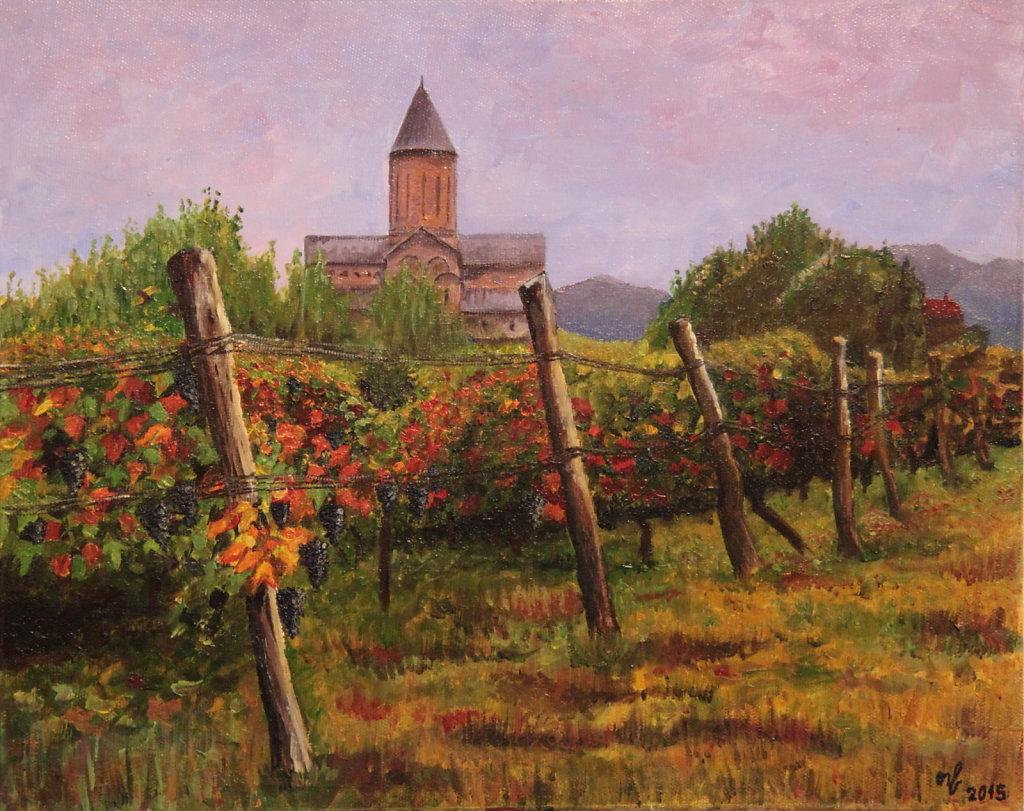 Виноградники Грузии / Vineyards of Georgia